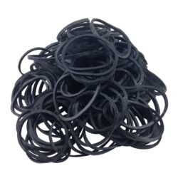 Black Rubber Band .25LB Bag