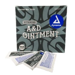 Dynarex A&D Ointment Foil Packet NO Lanolin Case