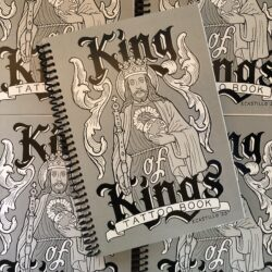 King of Kings Tattoo Book by Enrique Castillo