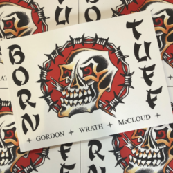 "Gordon ""Wrath"" McCloud – Born Tuff Book"