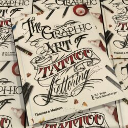 BJ Betts – The Graphic Art of Tattoo Lettering Book