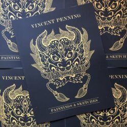 Vincent Penning Paintings & Sketches